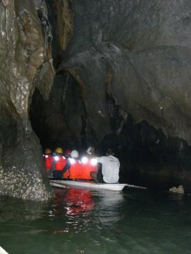 inside the Underground River
