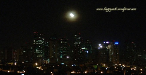 Moonlight over Makati