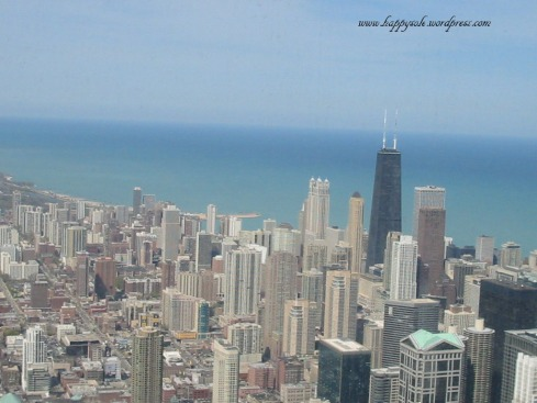 view from Sears Tower