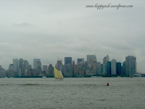 view from Liberty Island