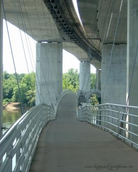 Suspension Bridge, Richmond, 2009