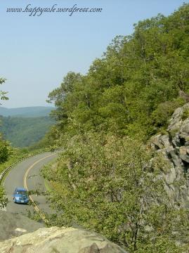 view of the Blueridge Parkway
